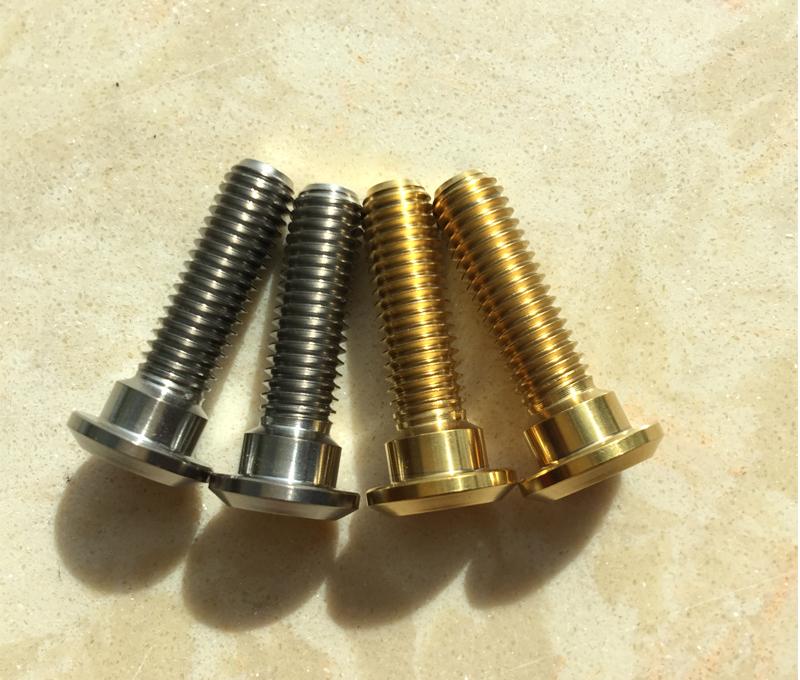 titanium 6al4v disc brake screws m8x30mm