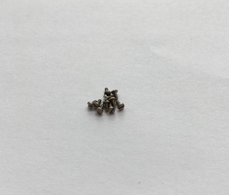 DIN84 Titanium gr2 screws