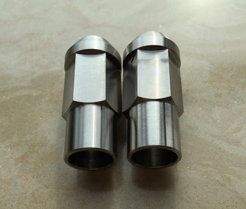 Titanium lug nuts, titanium wheel nuts