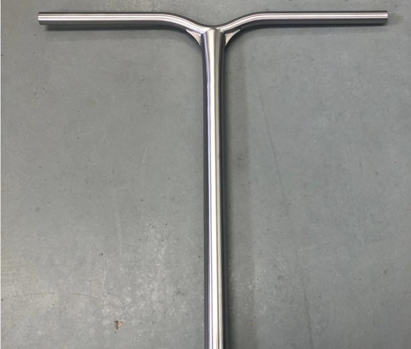 Gr9 Titanium scooter bar titanium T bar Y shape bar