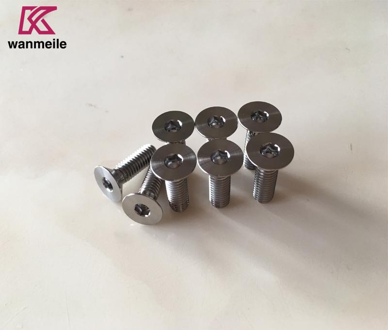 din7991 Titanium flat head bolts